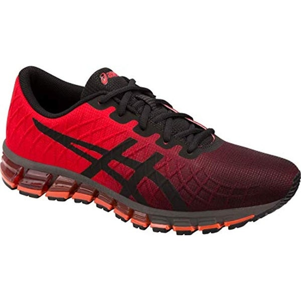 742ae3c635 ASICS Gel-Quantum 180 4 Men's Running Shoe, Classic Red/Black, 13 D US
