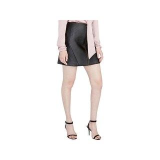 Rachel Rachel Roy Womens Mini Skirt A-Line Zip Front