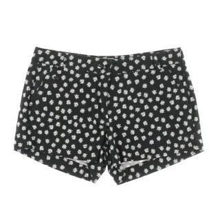 Essentiel Womens Floral Denim Casual Shorts - 40