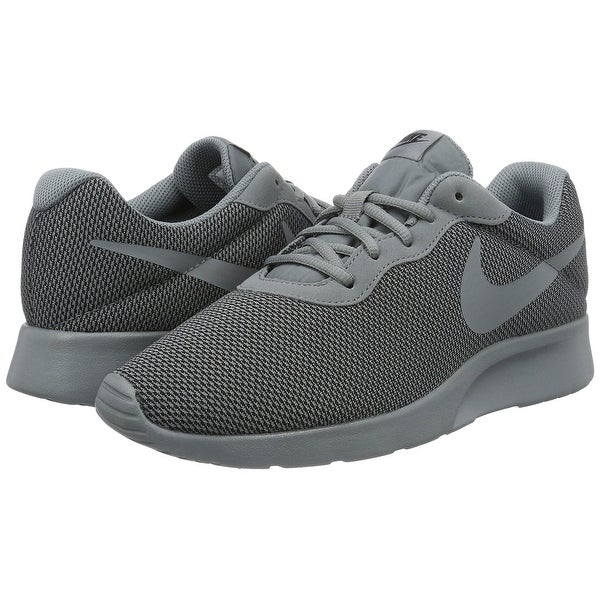 0afa1f401b5a Shop NIKE MENS NIKE TANJUN SE COOL GREY COOL GREY-BLACK