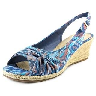Bella Vita Sangria Too WW Open Toe Synthetic Wedge Heel