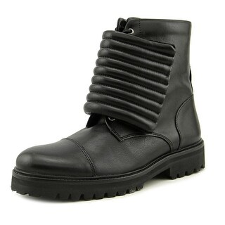 Royal Republiq Ave Hiker Storm Boot   Round Toe Leather  Combat Boot