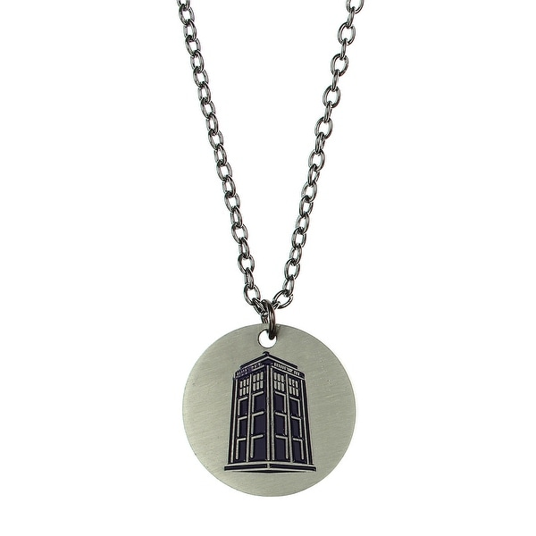 Doctor Who Bigger On The Inside Necklace