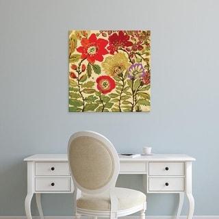 Easy Art Prints Karen Fields's 'Modern Art Innocence' Premium Canvas Art