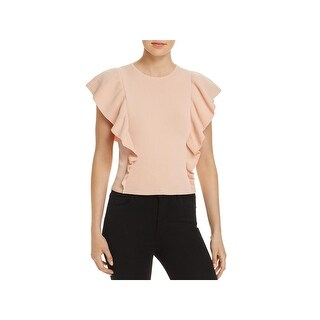 Lucy Paris Womens Pullover Sweater Ruffled Crew Neck (4 options available)