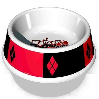 Buckle-Down Harley Quinn Pet Bowl