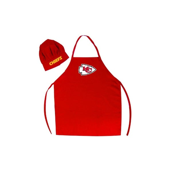 Kansas City Chiefs Apron and Chef Hat Set. Opens flyout.