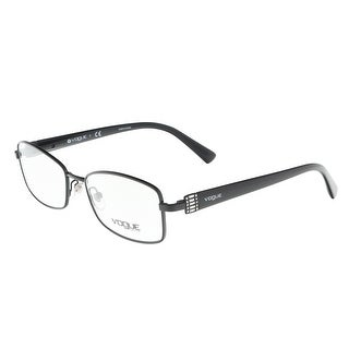 Vogue VO3961B 352 Black Rectangle Optical Frames - 52-17-135