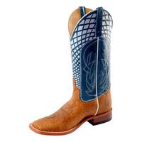 Horse Power Western Boots Mens Worksole Jeremiah Bullfrog Blue