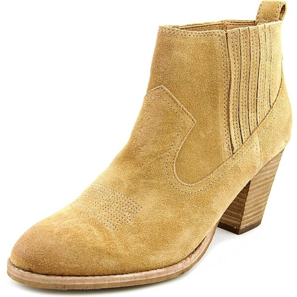 Am Dolce Vita: Shop Dolce Vita Jones Women Round Toe Suede Tan Bootie