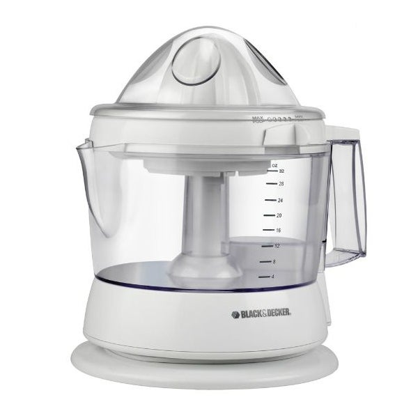 Black & Decker CJ625 Citrus Juicer, 34 Oz, White