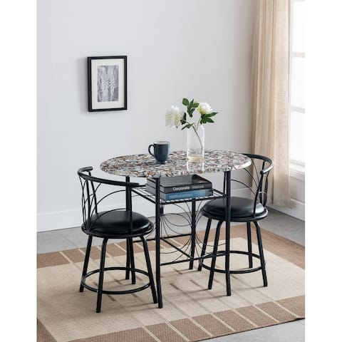 Volmer 3 Piece Dining Set