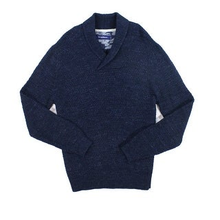 Tommy Bahama NEW Midnight Blue Mens Size 2XL Shawl Collar Sweater
