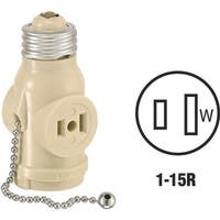 Leviton Iv Socket Adapter 0081406I Unit: EACH