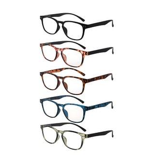 Link to Eyekepper 5-pack Retro Reading Glasses Square Readers for Women Similar Items in Eyeglasses