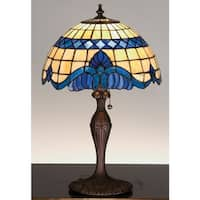 Meyda Tiffany 31201 Stained Glass / Tiffany Accent Table Lamp from the Baroque & Gypsy Collection - n/a