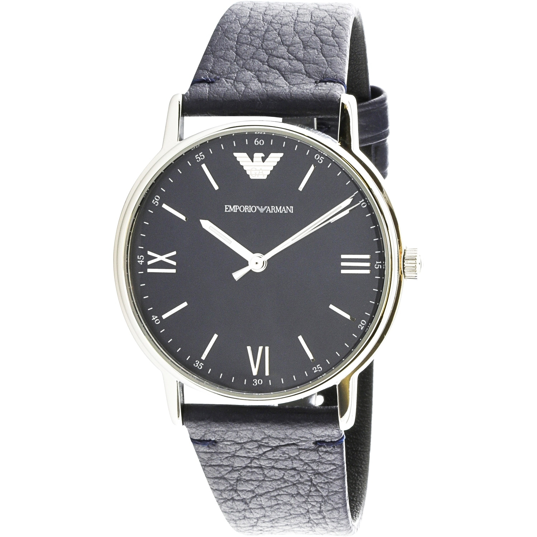 aa6838996a Emporio Armani Men's Kappa Blue Stainless-Steel Fashion Watch