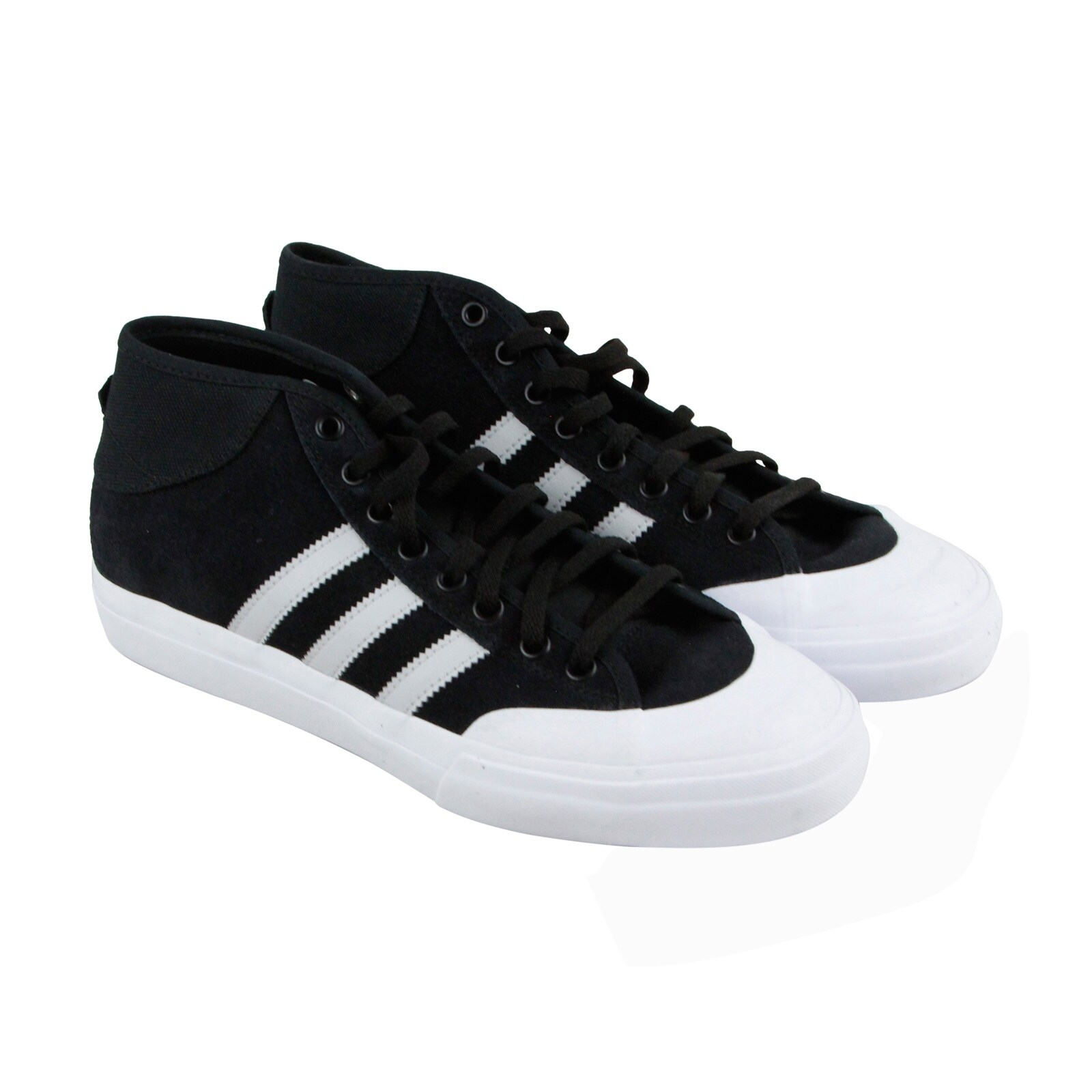 Shop Adidas Matchcourt Mid Mens Black