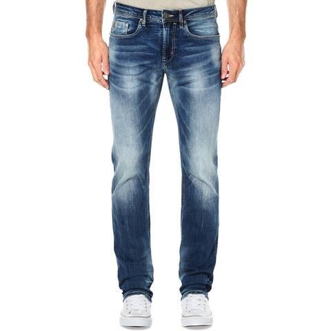 Buffalo David Bitton Mens Evan X Straight Leg Jeans Denim Slim Fit