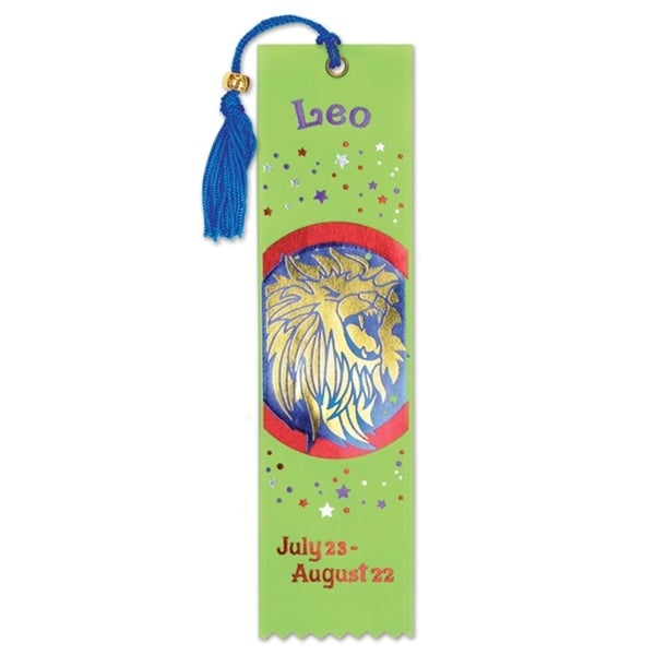 Pack of 6 Lime Green ''Leo'' Bookmarks 2'' x 7.75'' - N/A