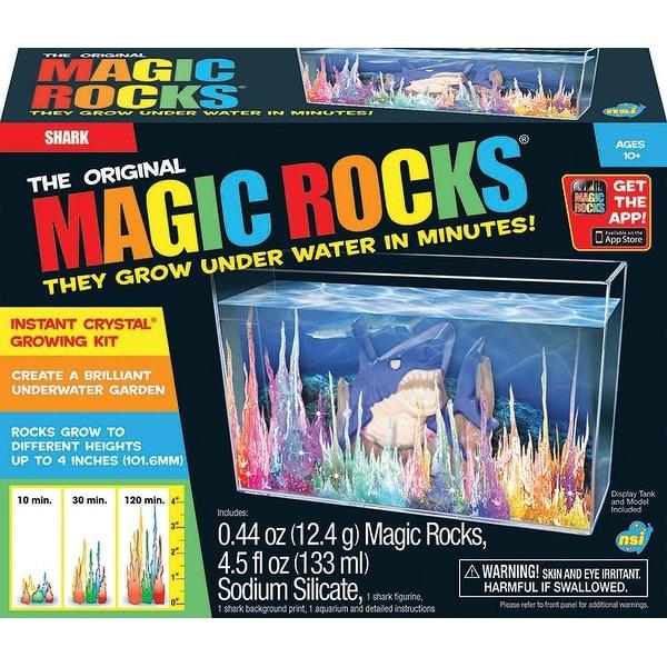 The Original Magic Rocks Crystal Growing Kit: Shark - multi