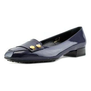 Tod's Gomma T20 Square Toe Patent Leather Loafer