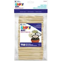 Woodsies Craft Picksnatural 3 5in 750 Pkg Free Shipping
