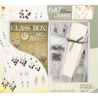 Jewelry Basics Class In A Box Kit-Silver Tone Earrings - Silver