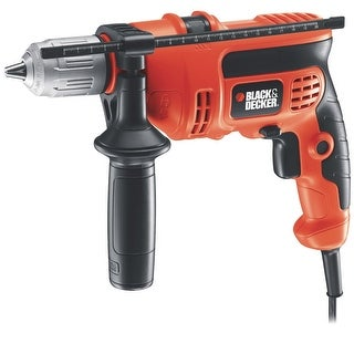"Black & Decker DR670 Hammer Drill, 1/2"", 6.0 Amp"