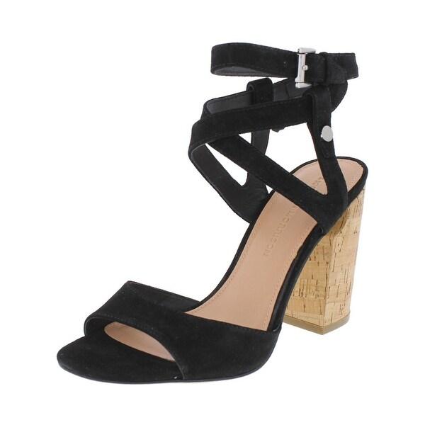 Sigerson Morrison Womens Paulina Heels Open Toe Dress - 7 medium (b,m)