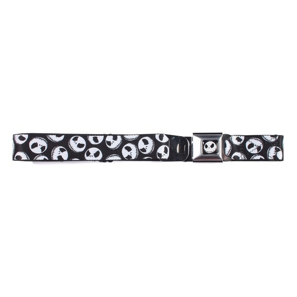 Disney The Nightmare Before Christmas Jack Heads Seatbelt Belt-Holds Pants Up