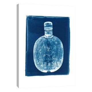 """PTM Images 9-105515  PTM Canvas Collection 10"""" x 8"""" - """"Whiskey Flask"""" Giclee Entertainment Art Print on Canvas"""