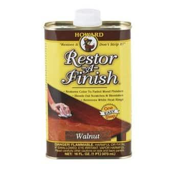 Howard RF4016 Restor-A-Finish, Walnut, 1 Pint