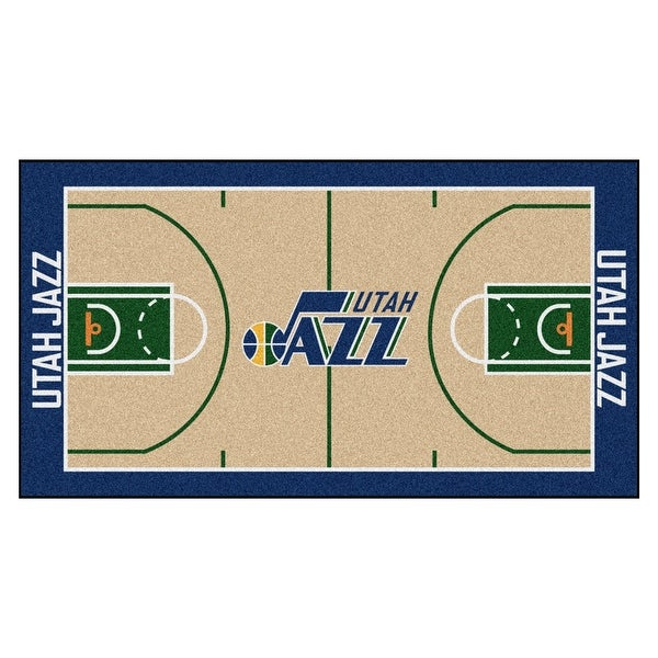 65ea2746f3a3 Shop NBA Utah Jazz NBA Court Large Non-Skid Mat Area Rug Runner - Free  Shipping Today - Overstock - 22624411