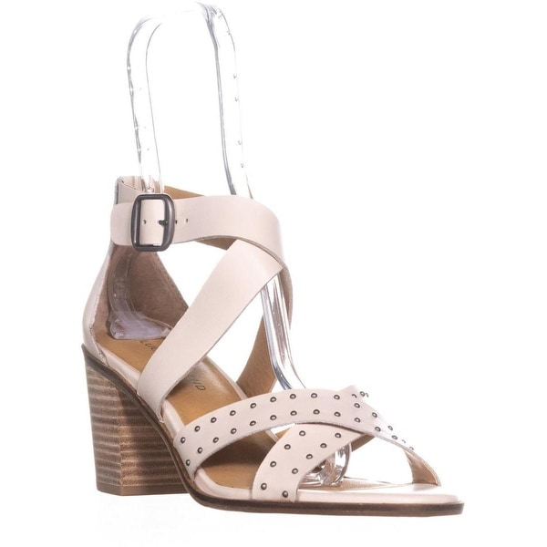 Lucky Brand Kesey Buckle Strappy Sandals, Sandshell