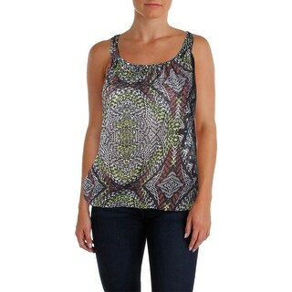 Belle du Jour Womens Juniors Tank Top Racerback Printed (2 options available)