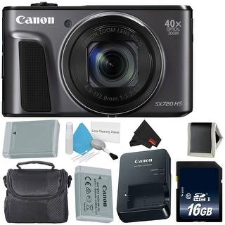 Canon PowerShot SX720 HS Digital Camera Bundle (standard)