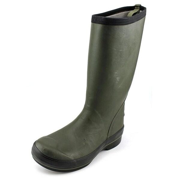 Bogs Highliner Tall Men Round Toe Synthetic Green Rain Boot