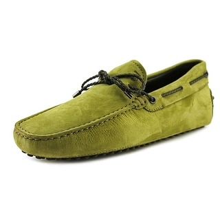 Tod's Laccetto My Colors New Gommini 122 Square Toe Suede Loafer