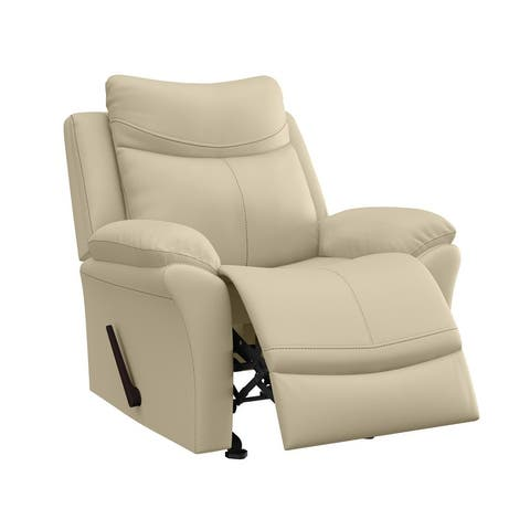 ProLounger Faux Leather Rocker Recliner Chair