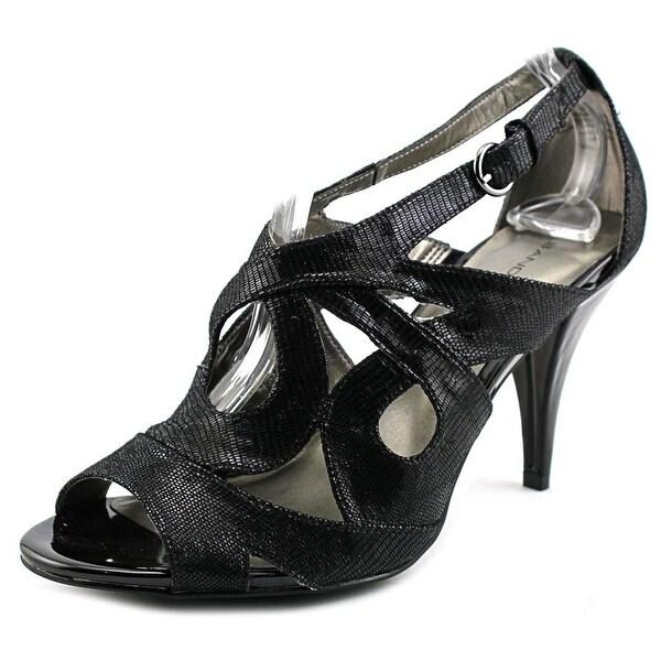 Bandolino Janeta Women Open Toe Canvas Sandals