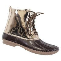 Yoki Womens Dylan-15, Brown, 7