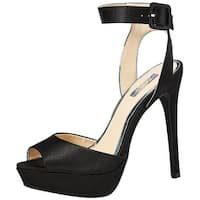 Qupid Womens Avalon-187 Open Toe Special Occasion Ankle Strap Sandals