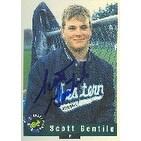 Scott Gentile Western Connecticut Expos Affilitate 1992 Classic Draft Pick Autographed Card Minor