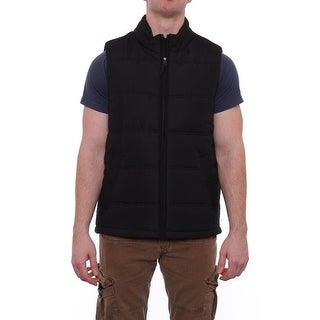Weatherproof  Full-Zip Puffer Vest Vest Black