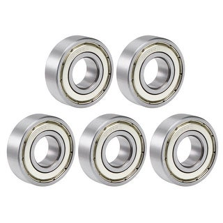 6202ZZ Deep Groove Ball Bearing 15x35x11mm Sealed Chrome Steel Z2 Bearing 5pcs - 5 Pack - 6202ZZ (Z2 Lever)