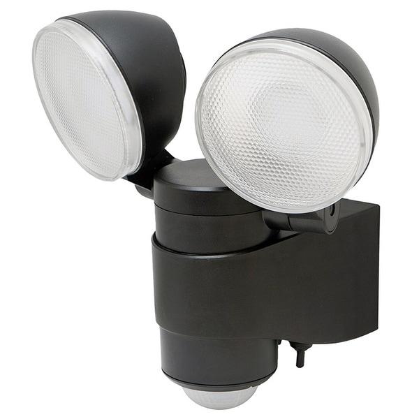 Maxsa 43218 maxsa battery-powered motion-activated dual head led security spotlight