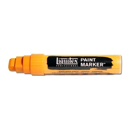 Liquitex - Paint Marker - Wide - 15mm Nib - Cadmium Orange Hue