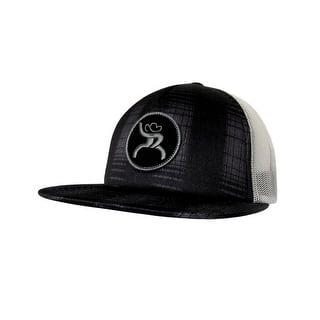 4b3bddc6bab HOOey Hat Mens Truck Cap Roughy Mesh Back One Size Black