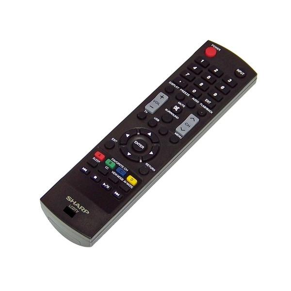 OEM Sharp Remote Control Originally Shipped With: LC46SV50U, LC-46SV50U, LC40LE550, LC-40LE550, LC32D59, LC-32D59